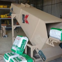 3538 Bale Buster with Soil Bag | Kase Conveyors