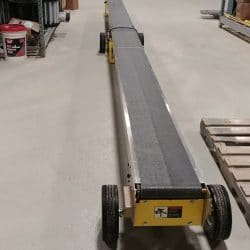 4100 Conveyor with Low Stands | Kase Conveyors