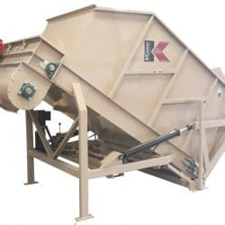 3561 Gobbler (Large Bale Processor) | Kase Conveyors